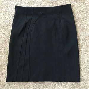 Diane Von Furstenberg Black Mini Skirt